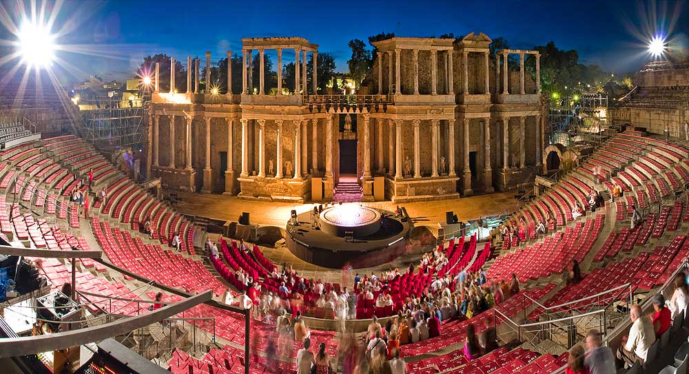 Boda Teatro Romano Merida : Visitar extremadura ramajal rural